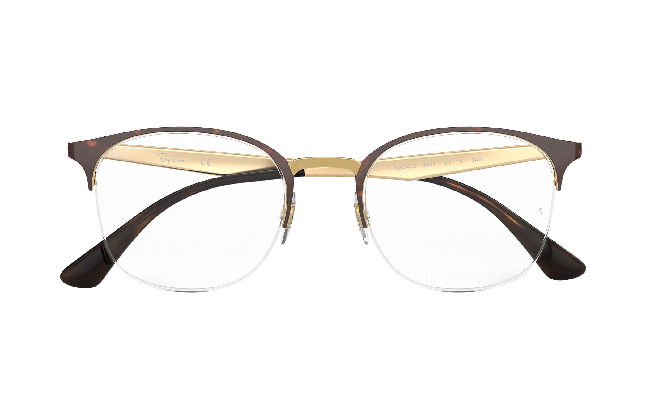 e9ba97d453 Ray-Ban eyeglasses RB6422 Tortoise - Metal - 0RX6422300151