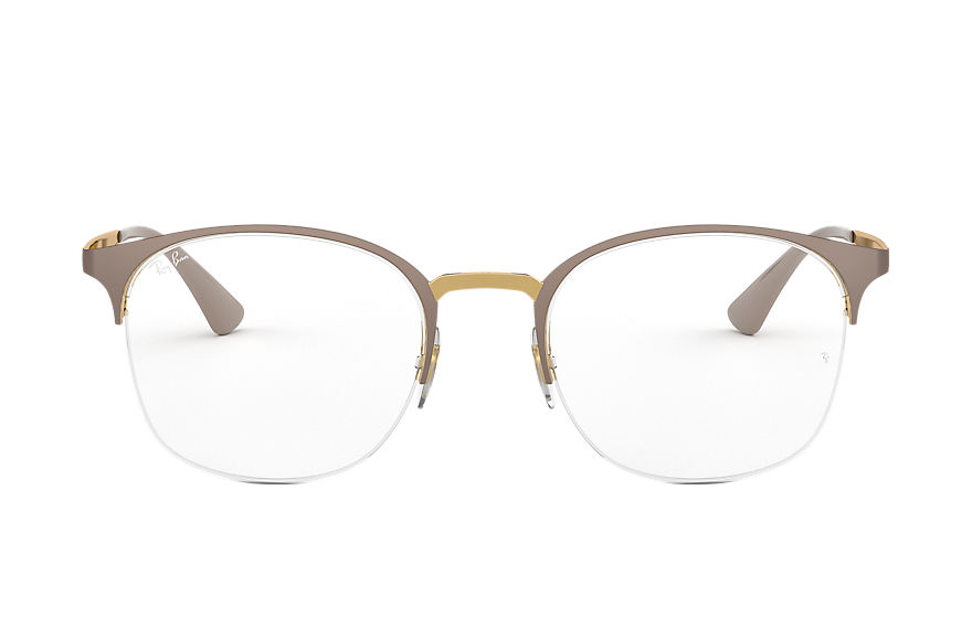 Ray-Ban  eyeglasses RX6422 FEMALE 003 rb6422 beige 8053672915167