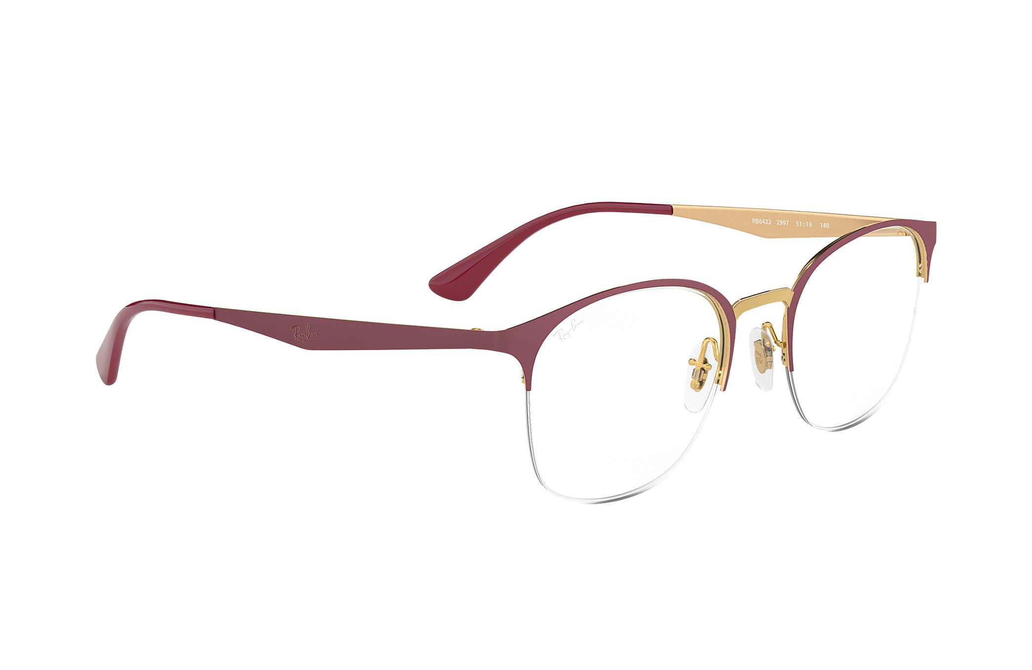 9a090d35a8 Ray-Ban eyeglasses RB6422 Bordeaux - Metal - 0RX6422300751
