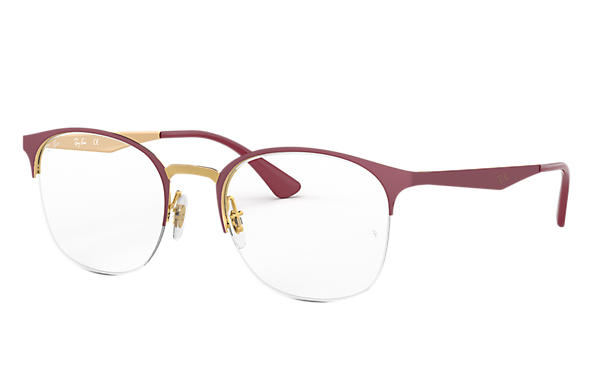 Ray-Ban 0RX6422-RB6422 Bordeaux,Or OPTICAL