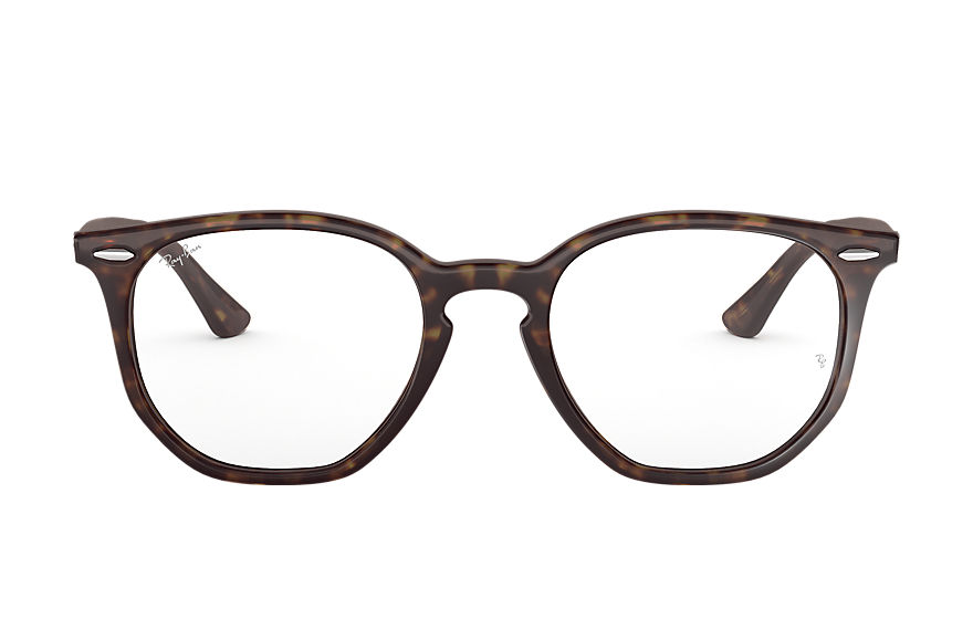 Ray-Ban  eyeglasses RX7151 UNISEX 002 rb7151 hexagonal optics schildpad 8053672915259