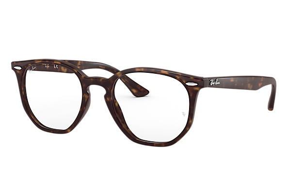 Ray-Ban 0RX7151-HEXAGONAL OPTICS Havana OPTICAL