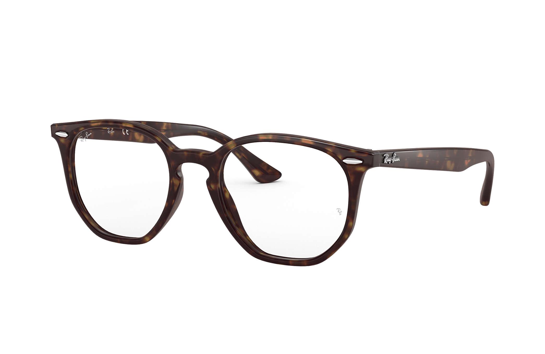 836e076ec Óculos de grau Ray-Ban Hexagonal Optics RB7151 Tartaruga - Acetato ...