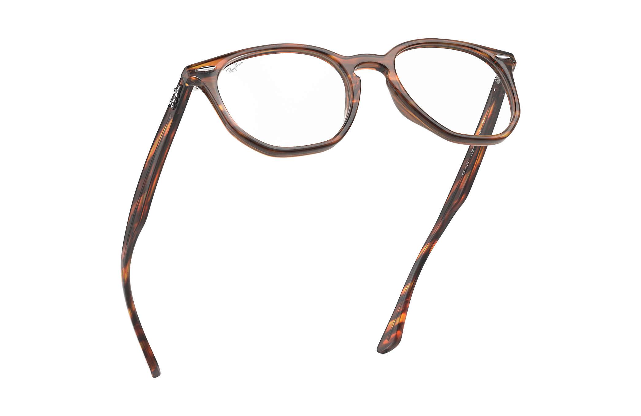 e101aa5cde Ray-Ban prescription glasses Hexagonal Optics RB7151 Tortoise ...