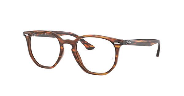 c9c6b6b6aac0e Ray-Ban prescription glasses Hexagonal Optics RB7151 Tortoise - Acetate -  0RX7151579750