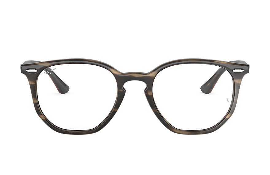 Ray-Ban  eyeglasses RX7151 UNISEX 004 rb7151 hexagonal optics schildpad 8053672915280