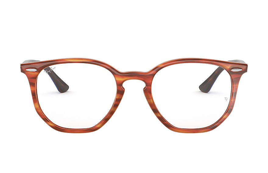 Ray-Ban  eyeglasses RX7151 UNISEX 005 rb7151 hexagonal optics tortoise 8053672915303