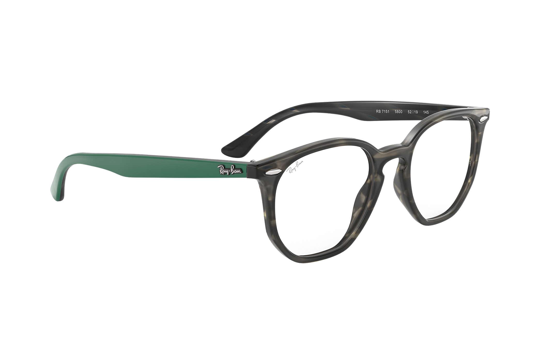 5a1fb6214f4 Ray-Ban prescription glasses Hexagonal Optics RB7151 Tortoise ...