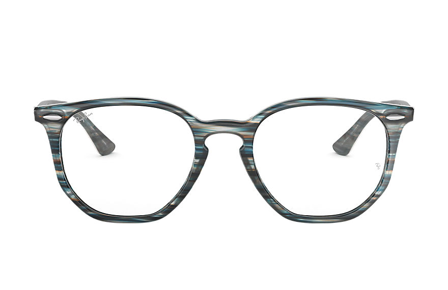 Ray-Ban  eyeglasses RX7151 UNISEX 007 rb7151 hexagonal optics blauw 8053672915358