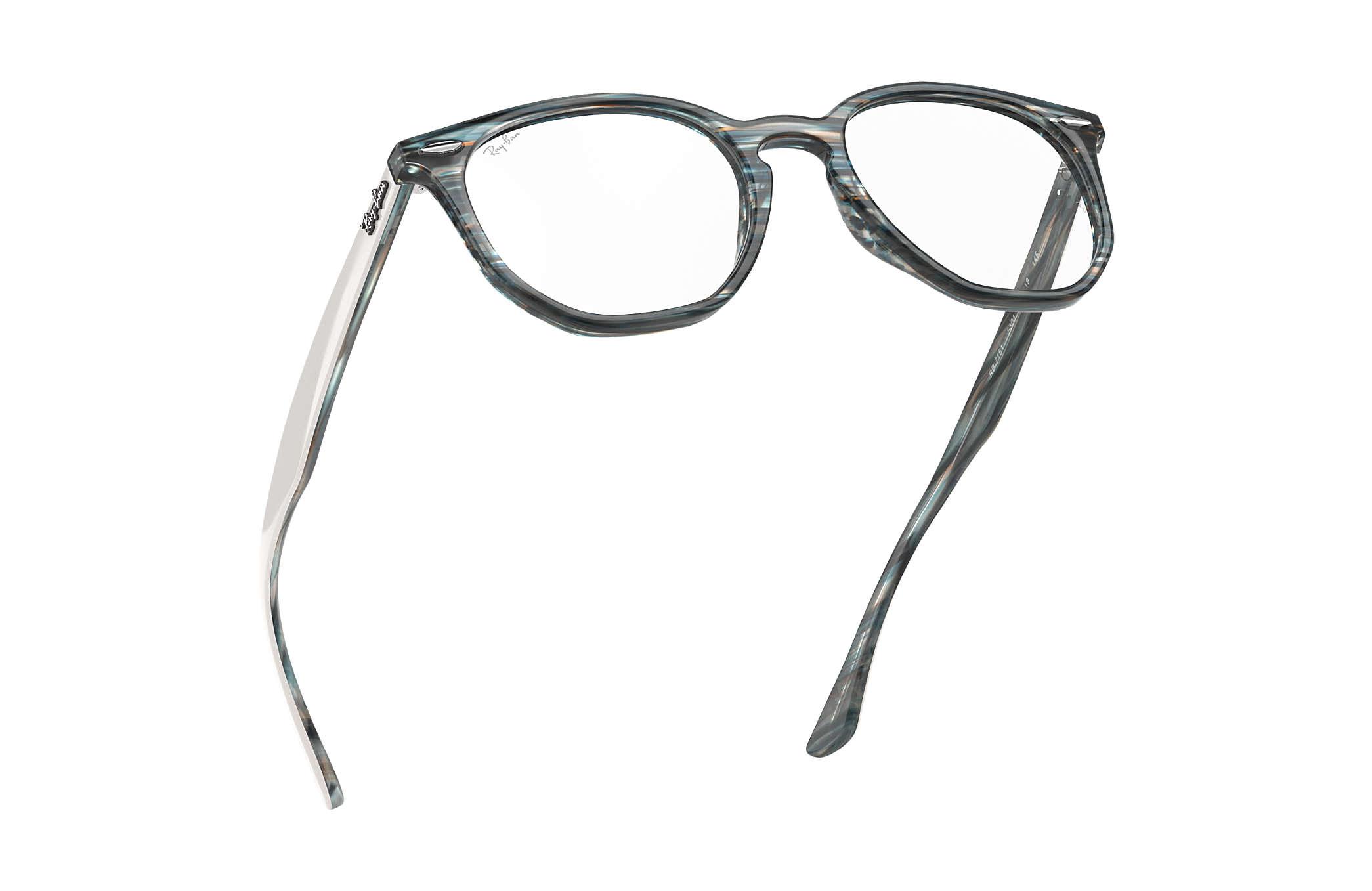 e48e1b3eb3 Ray-Ban eyeglasses Hexagonal Optics RB7151 Blue - Acetate ...