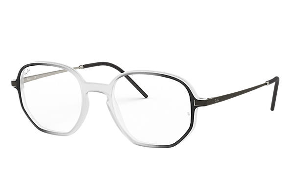 Ray-Ban 0RX7152-RB7152 Transparent; Schwarz,Silber OPTICAL