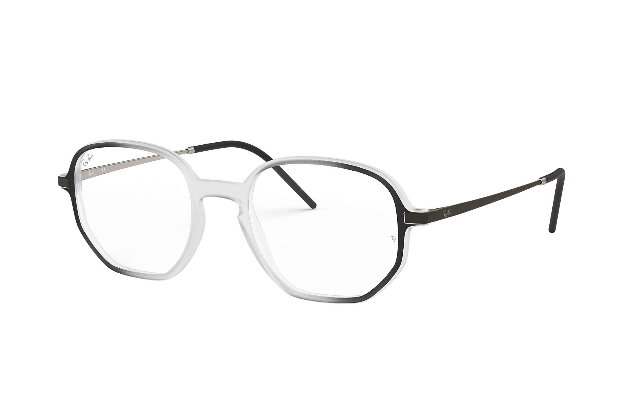 8e58a4773c88c Óculos de grau Ray-Ban RB7152 Transparente - Injetado ...