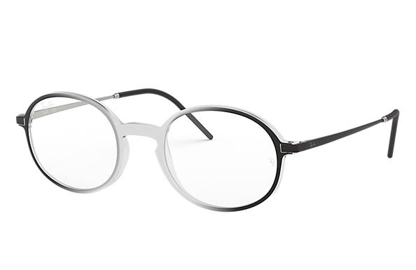 Ray-Ban 0RX7153-RB7153 Transparent; Schwarz,Silber OPTICAL