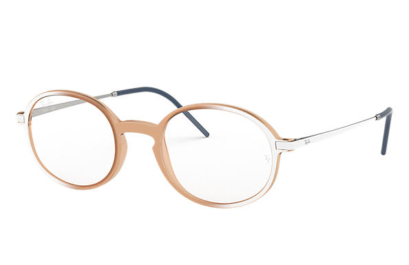 Ray-Ban 0RX7153-RB7153 Rose; Blanc,Argent OPTICAL