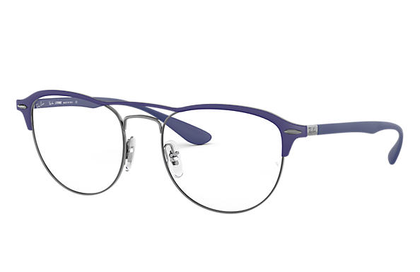 Ray-Ban 0RX3596V-RB3596V Blau,Gunmetal; Blau OPTICAL