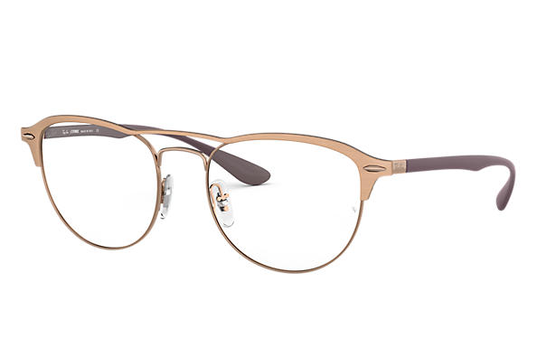 Ray-Ban 0RX3596V-RB3596V Hellbraun; Braun OPTICAL