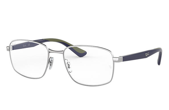 Ray-Ban 0RX6423-RB6423 Silver; Blue OPTICAL