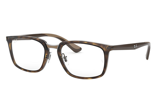 Ray-Ban 0RX7148-RB7148 Havana; Braun OPTICAL