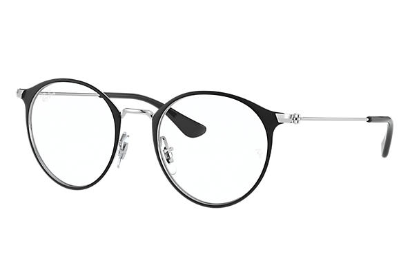 Ray-Ban 0RY1053-RB1053 Schwarz; Silber OPTICAL