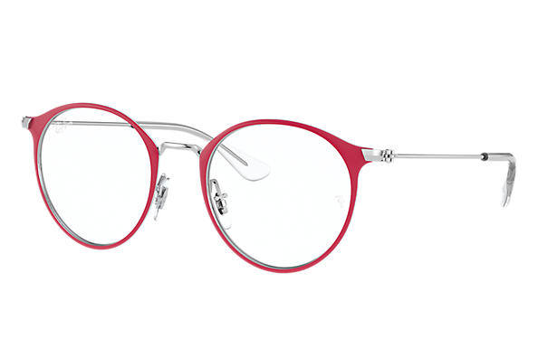 Ray-Ban 0RY1053-RB1053 Red; Silver OPTICAL