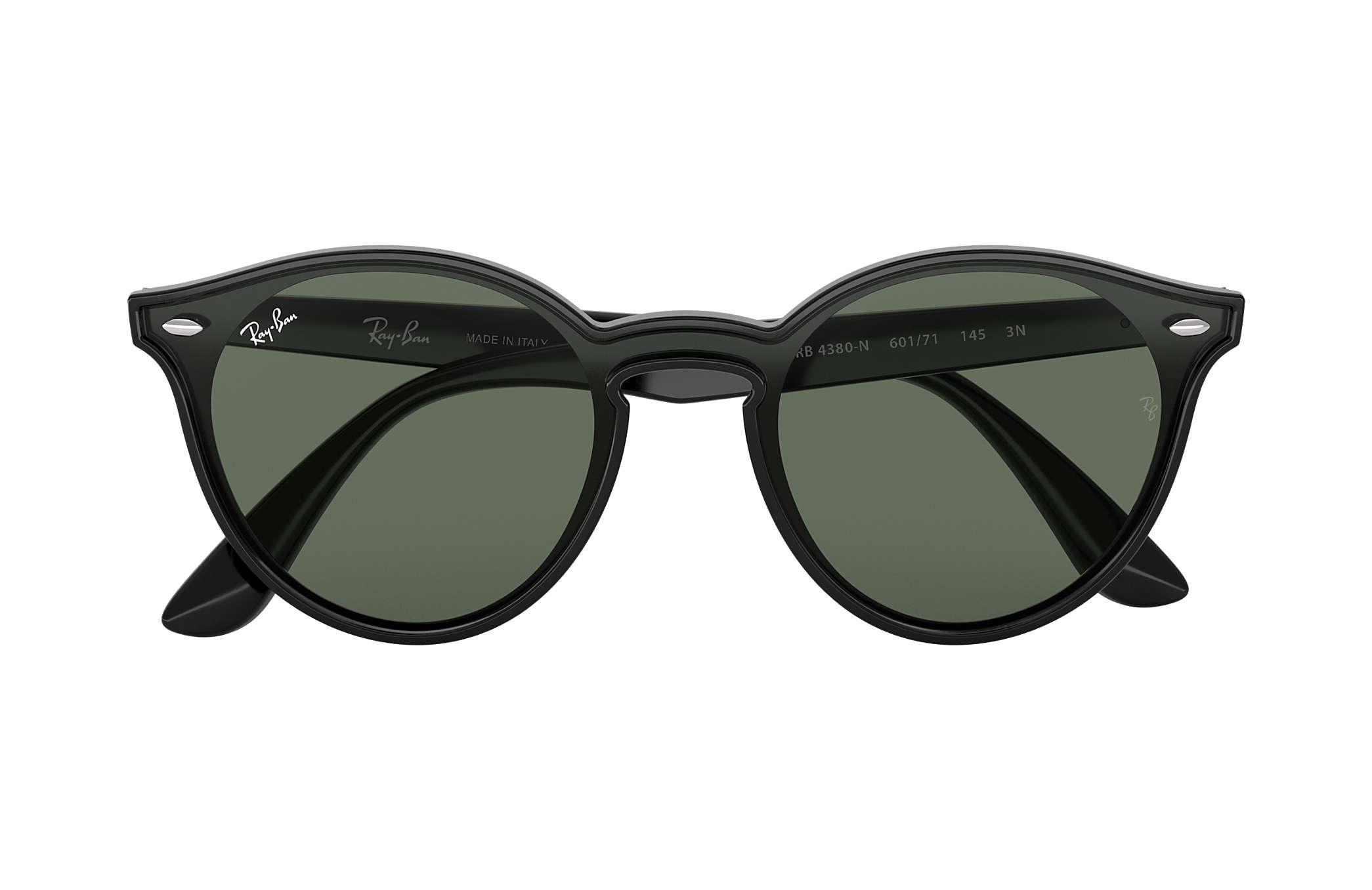 53160369fcffb Ray-Ban Blaze Rb4380n RB4380N Black - Nylon - Green Lenses ...