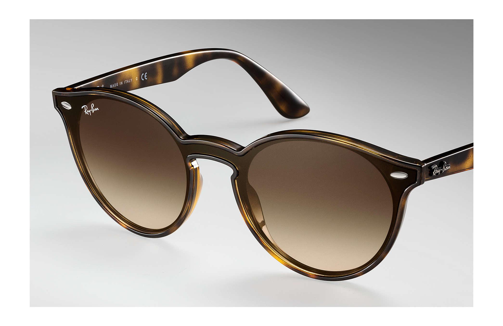 33f09f2a19 Ray-Ban Blaze Rb4380n RB4380N Tortoise - Nylon - Brown Lenses ...