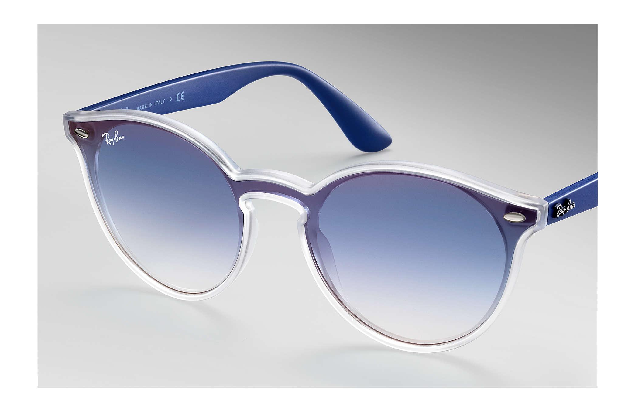 f5df08a6e Ray-Ban Blaze Rb4380n RB4380N Transparente - Nylon - Lentes Azul ...