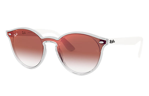 cf2c3c67a6 Ray-Ban Blaze Rb4380n RB4380N Transparent - Nylon - Grey Lenses -  0RB4380N6355U037