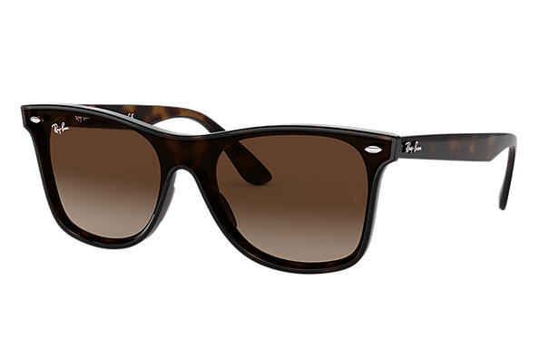 72686f98cc319 Ray-Ban Blaze Wayfarer RB4440N Tortoise - Nylon - Brown Lenses ...