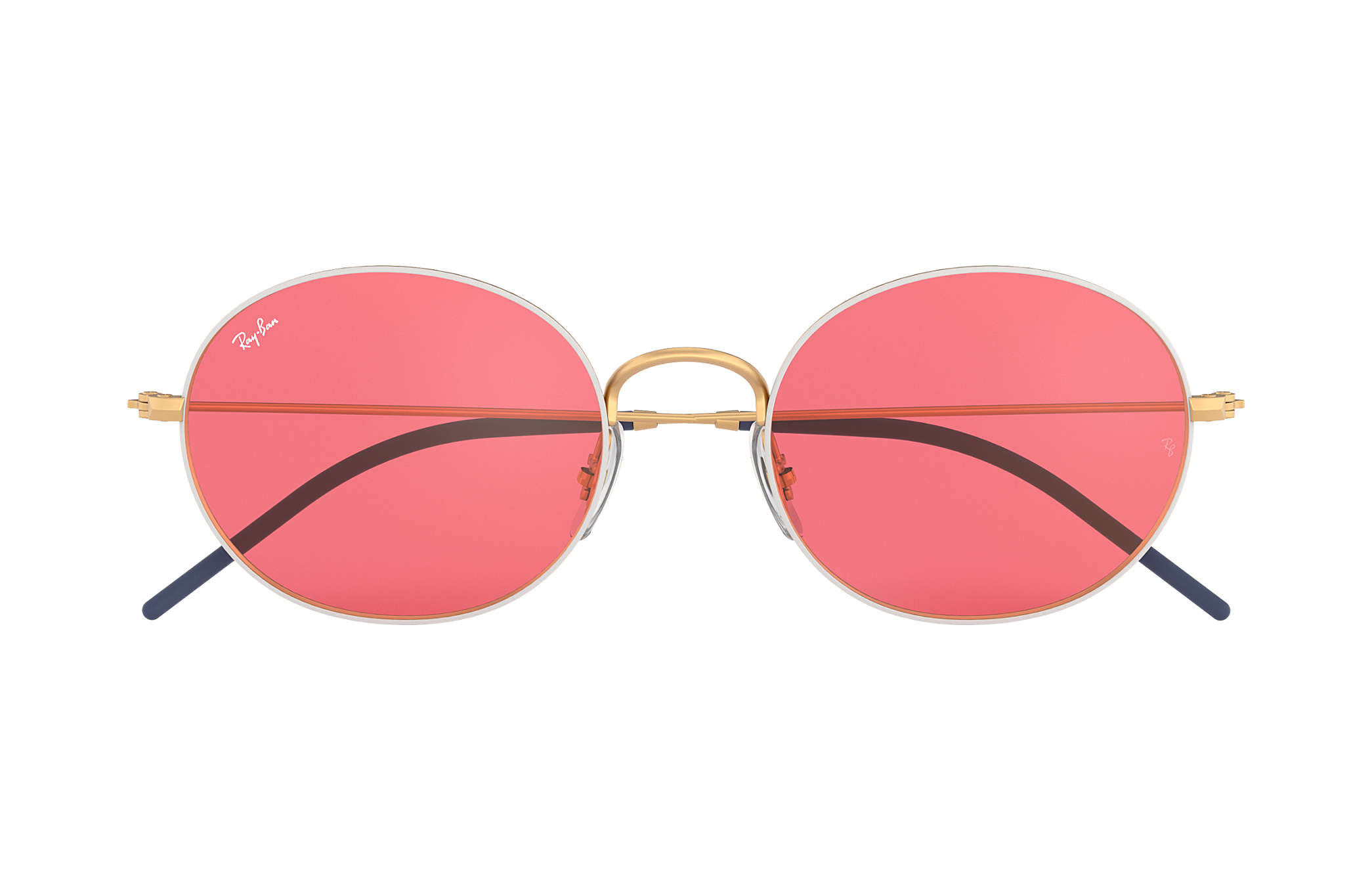 d834ee2164 Ray-Ban Ray-ban Beat RB3594 White - Metal - Red Lenses ...