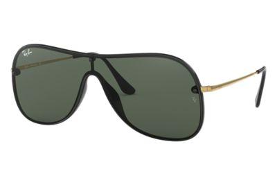 Comprar Ray-Ban Gafas-de-sol RB4311N Negro con lente Verde Clásica
