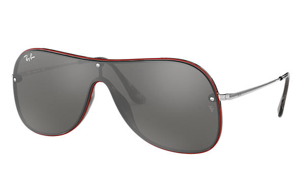 Ray-Ban 0RB4311N-RB4311N Red,Tortoise; Silver SUN