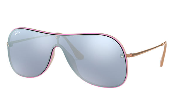 Ray-Ban 0RB4311N-RB4311N Violet,Light Brown; Bronze-Copper SUN