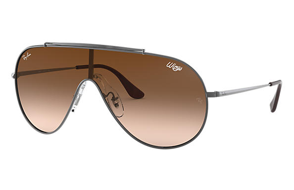 Ray-Ban 0RB3597-WINGS Gunmetal SUN