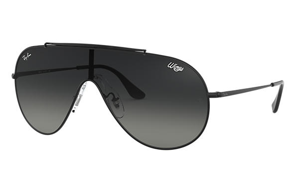 Ray-Ban 0RB3597-WINGS Black SUN