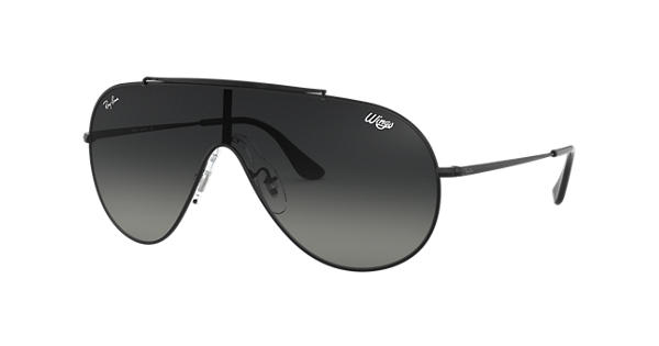 5dbdc0f25e Ray-Ban Wings RB3597 Black - Metal - Grey Lenses - 0RB3597002 1133 ...