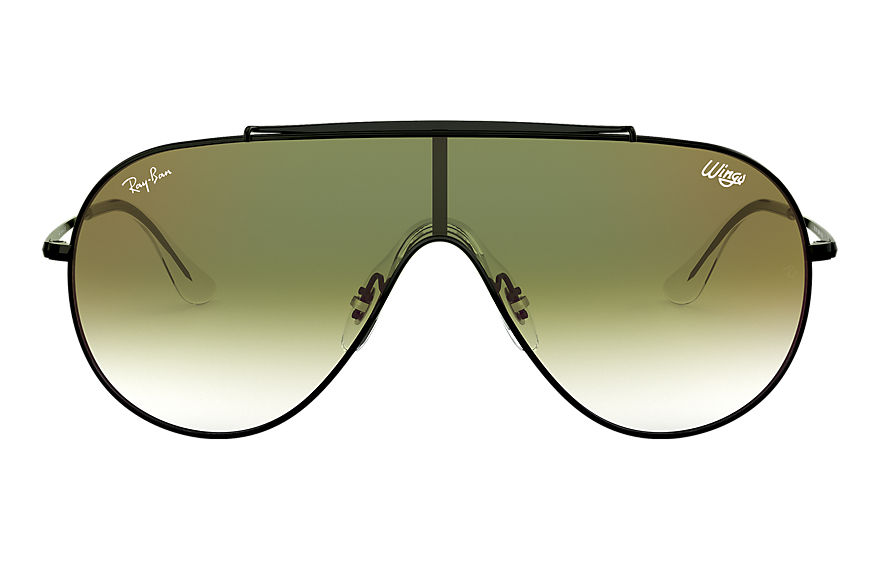 Ray-Ban  sunglasses RB3597 UNISEX 003 wings 黑色 8053672919578