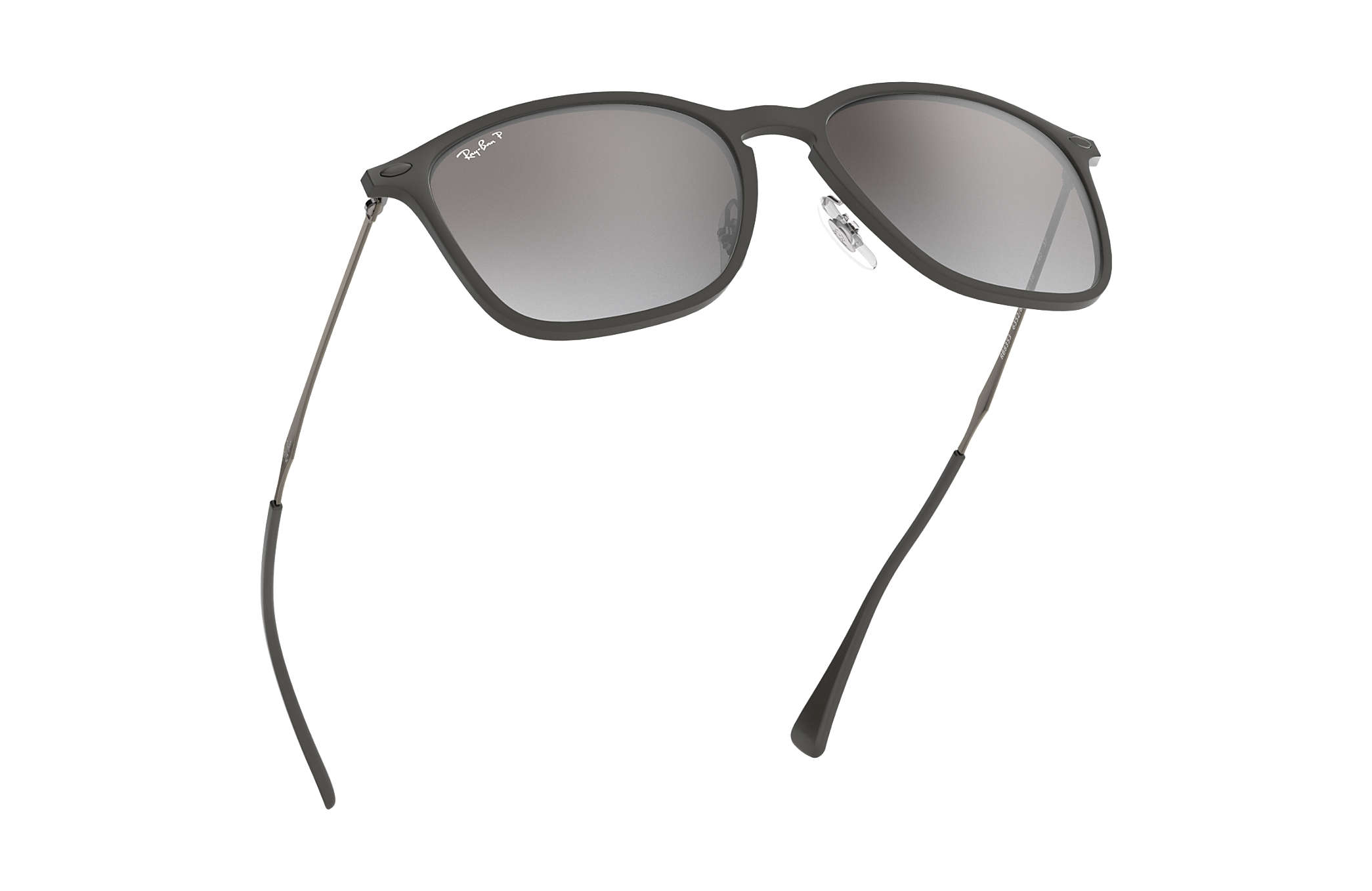 a9afa149a3f Ray-Ban RB8353 Grey - Graphene - Silver Polarized Lenses ...
