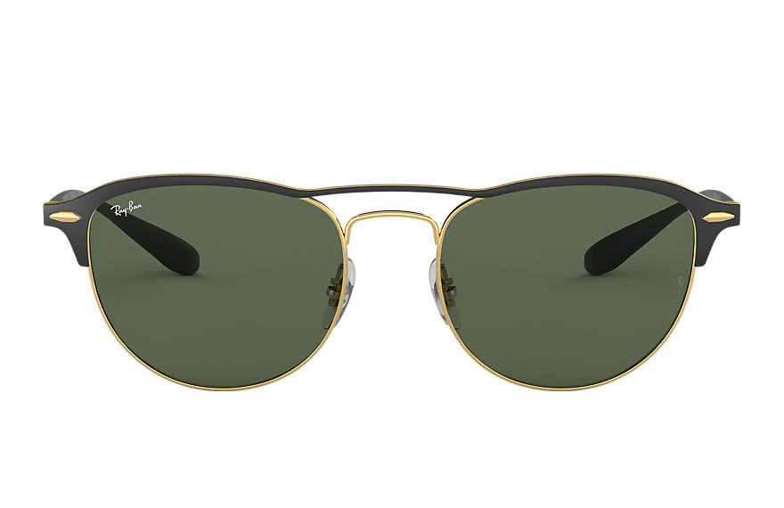 Ray-Ban Sunglasses RB3596 Black with Green Classic lens