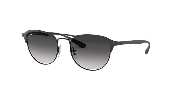 3e735feb00b Ray-Ban RB3596 Black - Peek - Grey Lenses - 0RB3596186 8G54