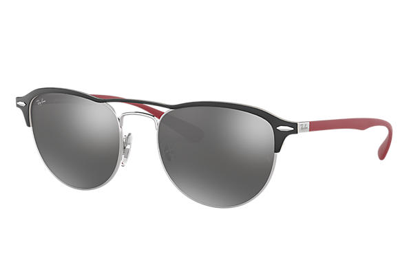 Ray-Ban 0RB3596-RB3596 Black; Red SUN