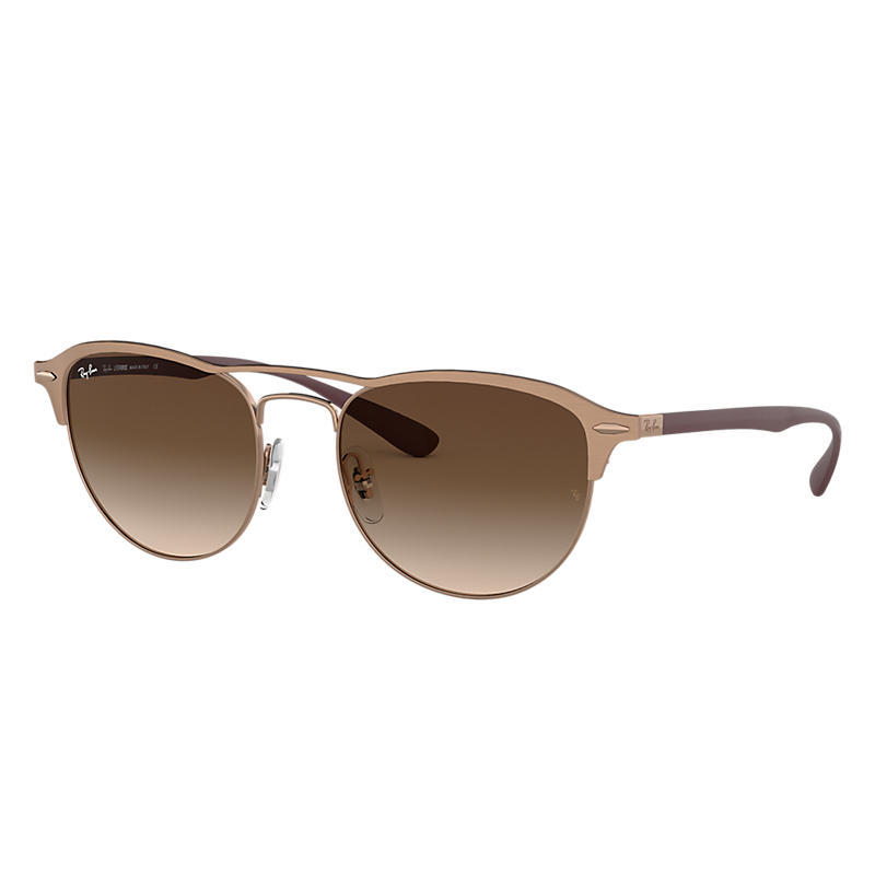 Ray Ban Rb3596 Homme Sunglasses Verres: Marron, Monture: Violet - RB3596 909213 54-19