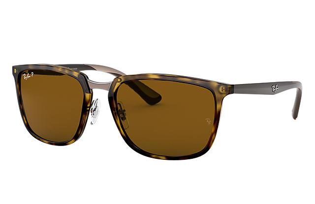 c170c47f5c Ray-Ban RB4303 Tortoise - Nylon - Brown Polarized Lenses ...