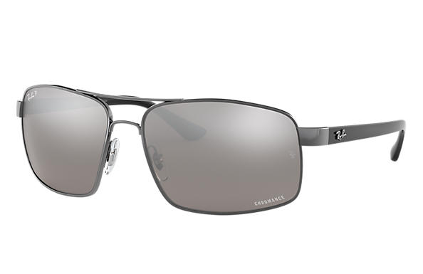 Ray-Ban 0RB3604CH-RB3604 CHROMANCE Gunmetal; Black SUN