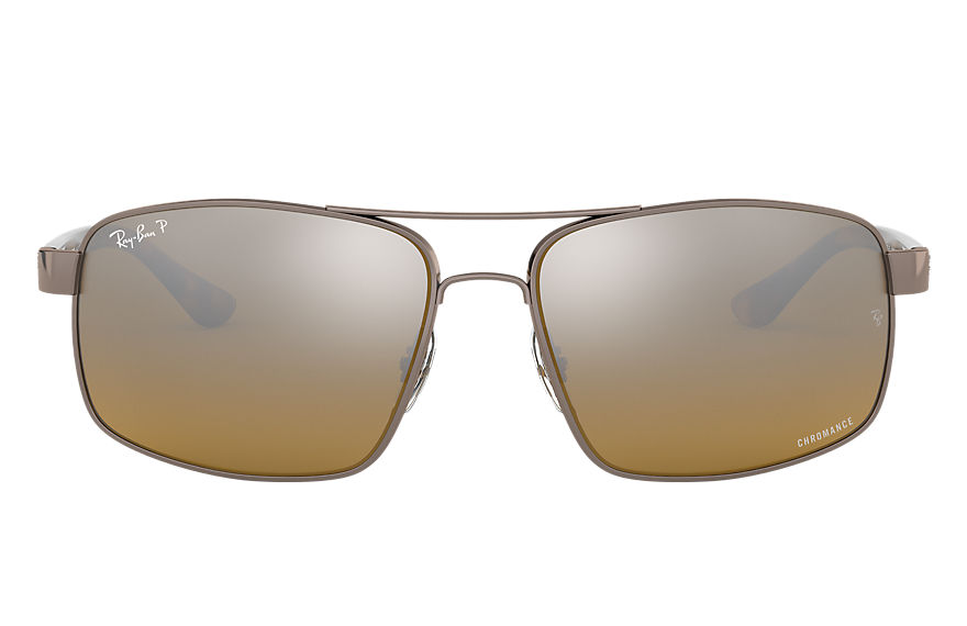 Ray-Ban  sunglasses RB3604CH MALE 002 rb3604 chromance lichtbruin 8053672919974