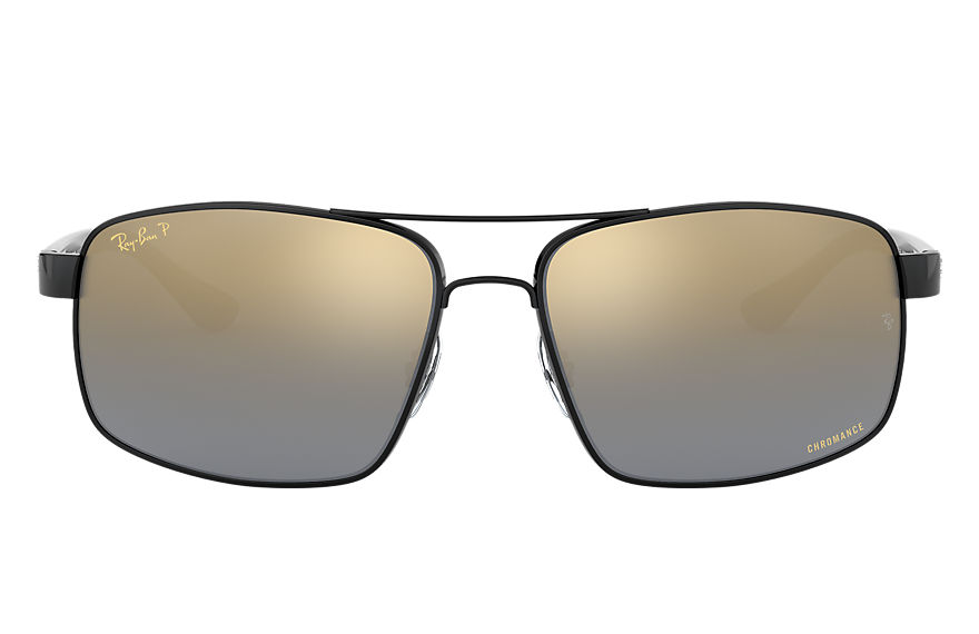 Ray-Ban  sonnenbrillen RB3604CH MALE 005 rb3604ch black 8053672919981