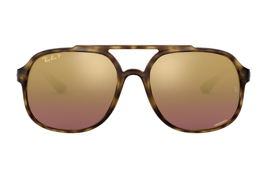 Ray-Ban  sunglasses RB4312CH MALE 001 rb4312 chromance schildpad 8053672920017