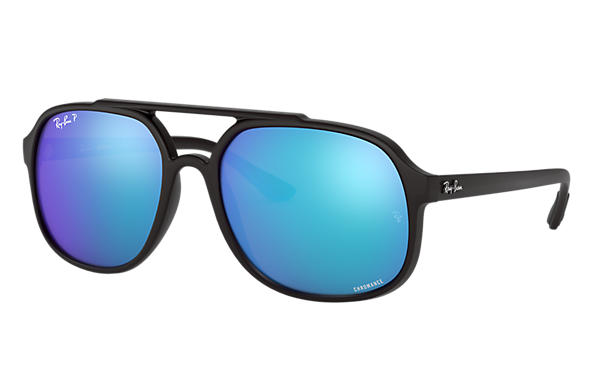 d29f3032de Ray-Ban RB4312CH Black - Nylon - Blue Polarized Lenses ...