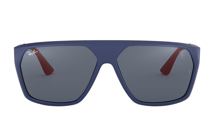 Ray-Ban RB4309M SCUDERIA FERRARI COLLECTION Blue with Grey Classic lens