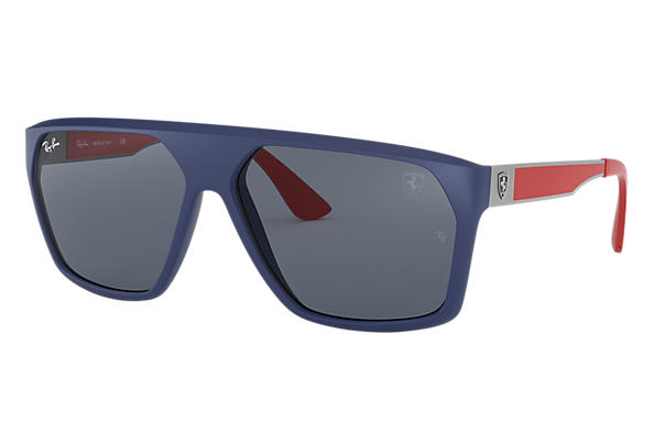 Ray-Ban 0RB4309M-SCUDERIA FERRARI COLLECTION RB4309M Blu; Canna di fucile,Rosso SUN